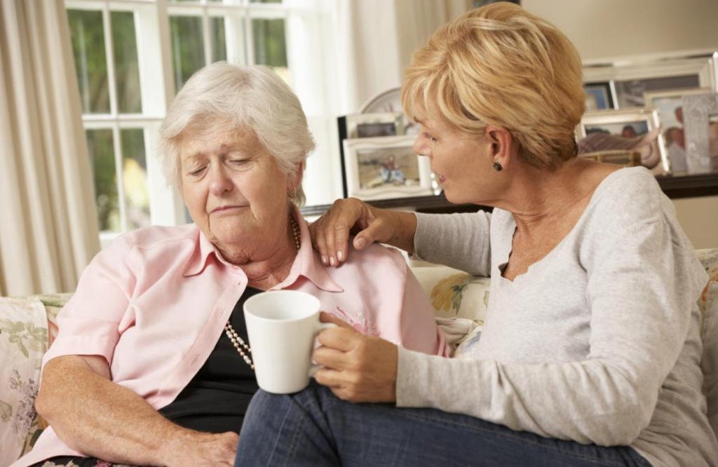 Pflegende Angehörige brauchen Unterstützung