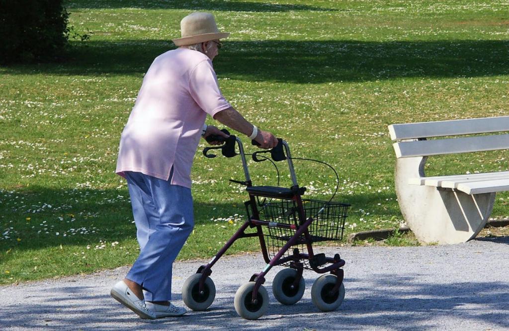 Der beste Rollator für die Senioren
