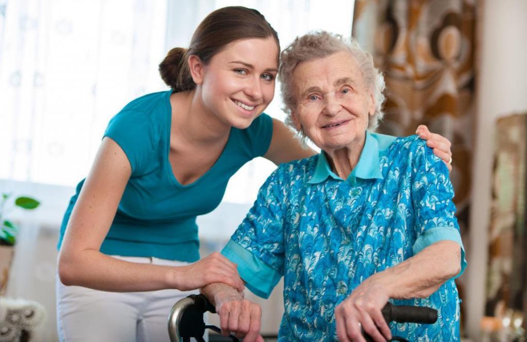 Altenpflegehelferin ist eine schöne Aufgabe