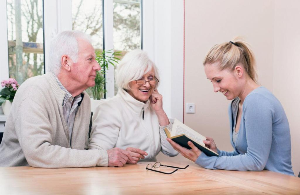 Altenhilfe für Senioren