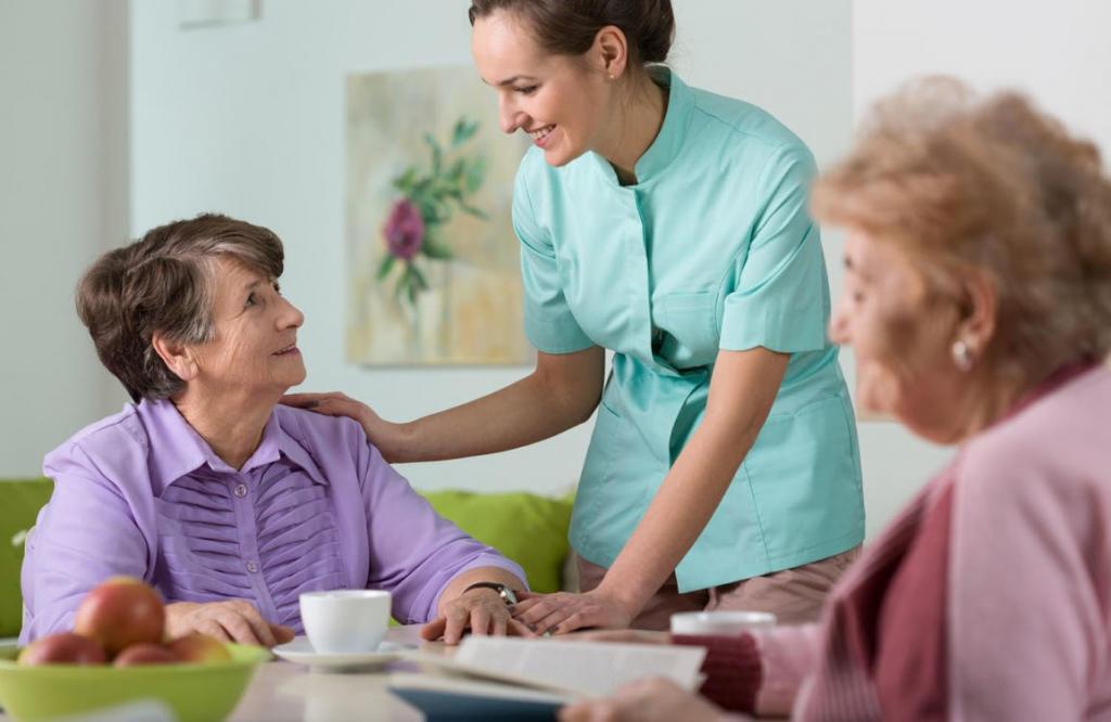 Liebevolle und qualifizierte Altenpflege