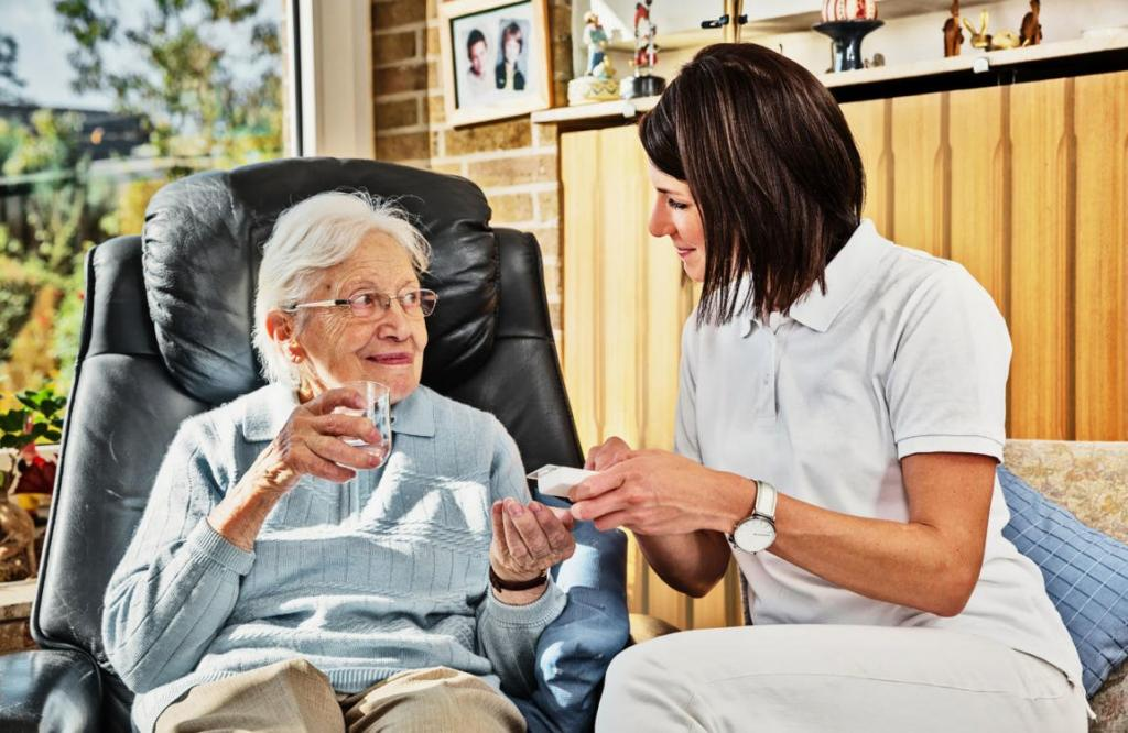 Ihr ambulanter Pflegedienst kommt gern zu Ihnen nach Hause