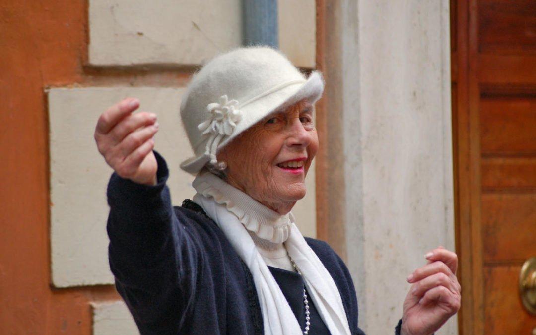 Mode für Senioren